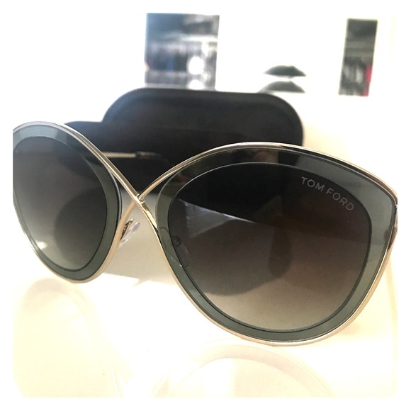 3dd782b3a7 Tom Ford Sascha 55 mm Butterfly sunglasses